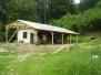 Budování chaty